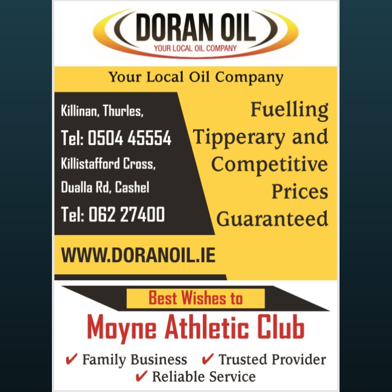 Moyne Athletic Club Ad
